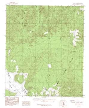 Etoile North topo map