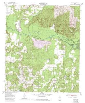 Redland topo map