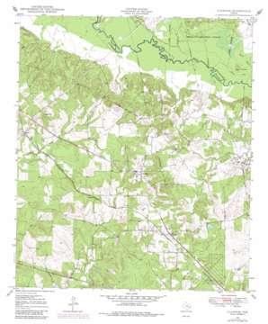 Clawson topo map