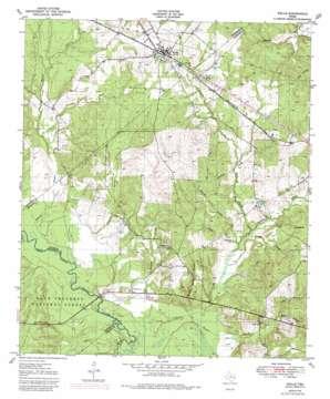 Wells topo map