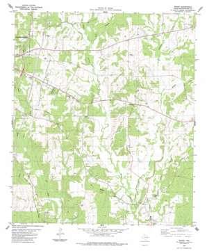 Woden topo map