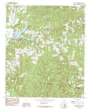 Mount Herman topo map
