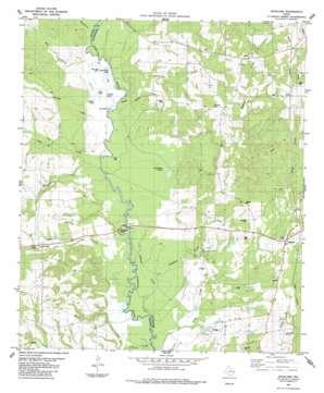 Douglas topo map