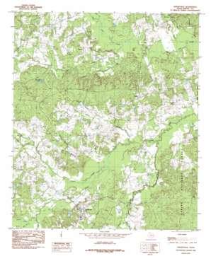 Shelbyville topo map