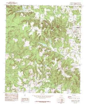 Garrison West topo map