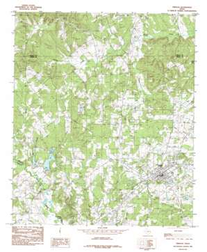 Timpson USGS topographic map 31094h4