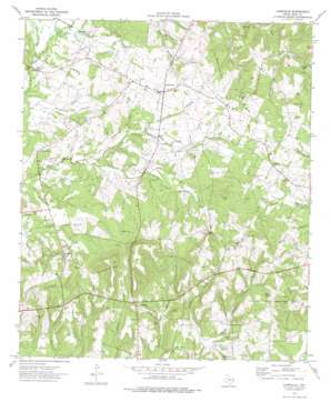 Laneville topo map