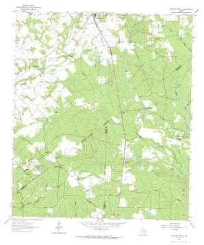 Lovelady South topo map
