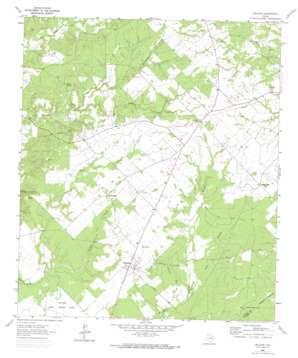 Weldon topo map