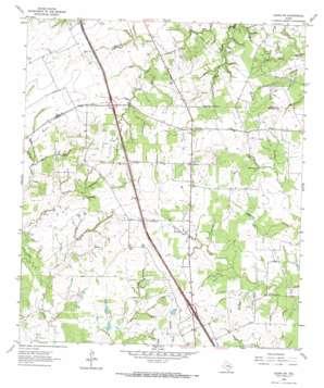 Leona Sw topo map