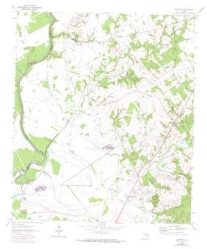 Austonio topo map