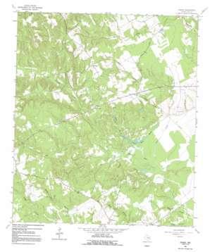Eunice topo map