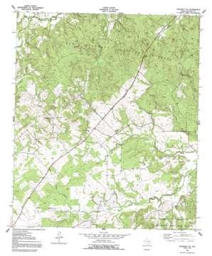 Crockett Ne topo map