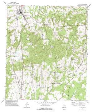 Grapeland USGS topographic map 31095d4