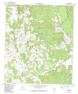 Augusta topo map