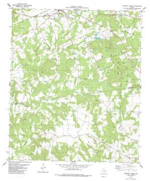 Elkhart Creek topo map