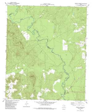 Denson Springs USGS topographic map 31095f3