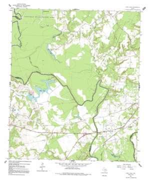 Long Lake topo map