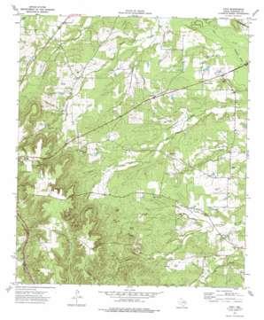 Atoy topo map