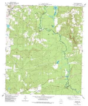 Neches USGS topographic map 31095g4