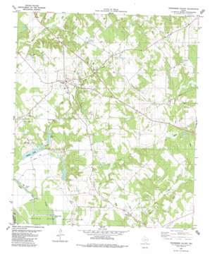 Tennessee Colony topo map