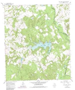 Camp Creek Lake topo map