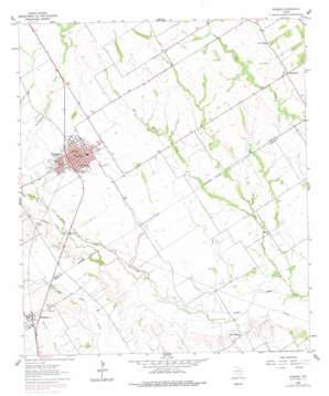 Rosebud USGS topographic map 31096a8