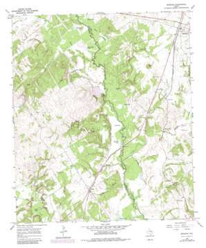 Marquez topo map