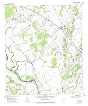 Reagan topo map