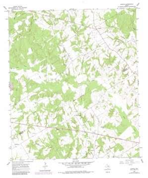 Oletha topo map