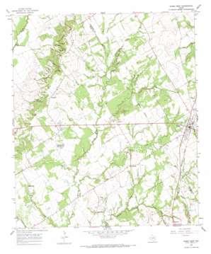 Kosse West topo map