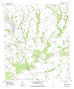 Mcclanahan topo map