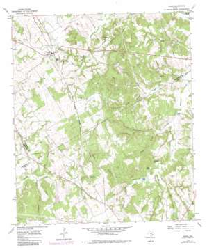 Donie topo map