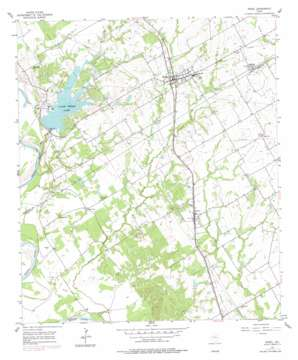 Riesel topo map