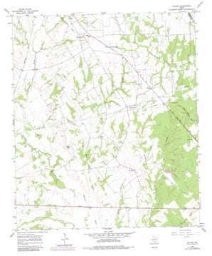 Fallon topo map