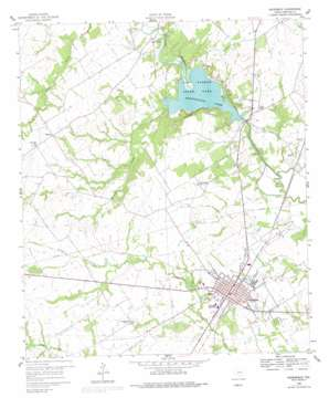 Groesbeck USGS topographic map 31096e5