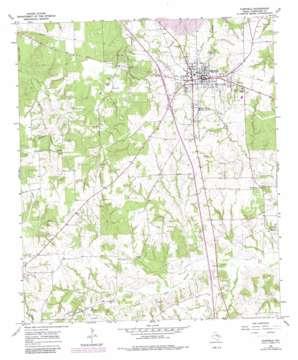 Fairfield topo map
