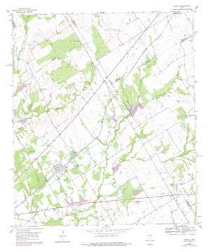 Axtell topo map