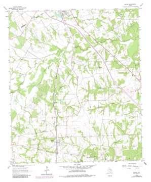 Kirvin topo map
