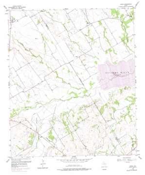 Irene topo map