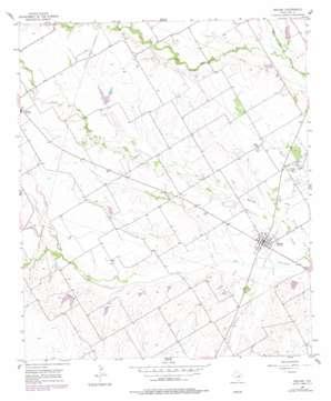 Malone topo map
