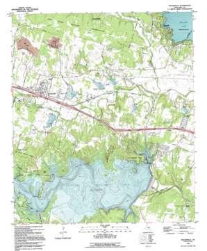 Nolanville topo map
