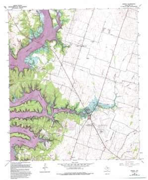 Moffat topo map
