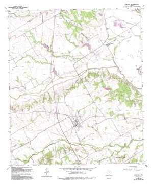 Chilton topo map