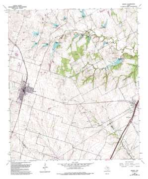 Moody topo map