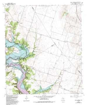 Eagle Springs topo map