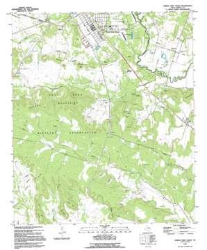North Fort Hood USGS topographic map 31097c6