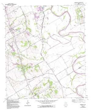 Robinson topo map
