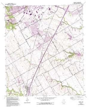 Lorena topo map
