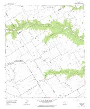 Coryell USGS topographic map 31097e5